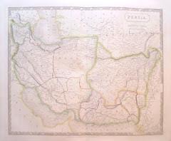 عام 1828م خريطة بلوشستان المستقلة
