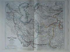 عام 1866م خريطة بلوشستان المستقلة
