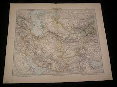 1899م خريطة بلوشستان الشرقية عام