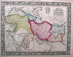 عام 1860م خريطة بلوشستان المستقلة