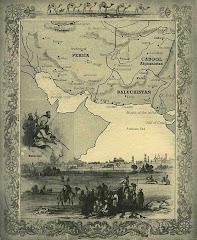 1800م  خريطة مملكة بلوشستان