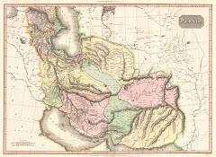 1811م خريطة بلوشستان المستقلة