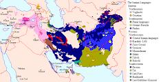 خريطة إنتشار اللغة البلوشية