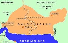 بلوشستان الكبرى المحتلة المقسمة