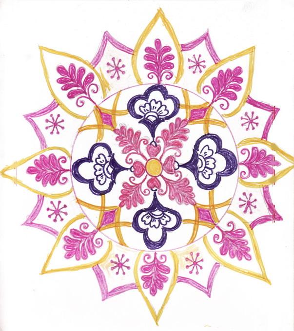 Chittara Rangoli Pattern Designs For Sarees Floor Jewellery Roof Top ...
