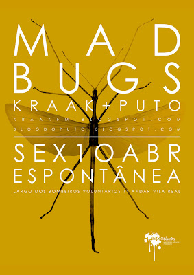 cartaz Mad Bugs