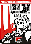 PLATAFORMA REIVINDICATIVA II COVENIO COLECTIVO PERSONAL LABORAL AYUNTAMIENTO DE ADRA