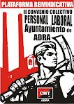 PLATAFORMA REIVINDICATIVA II COVENIO COLECTIVO PERSONAL LABORAL AYUNTAMIENTO DE ADRA