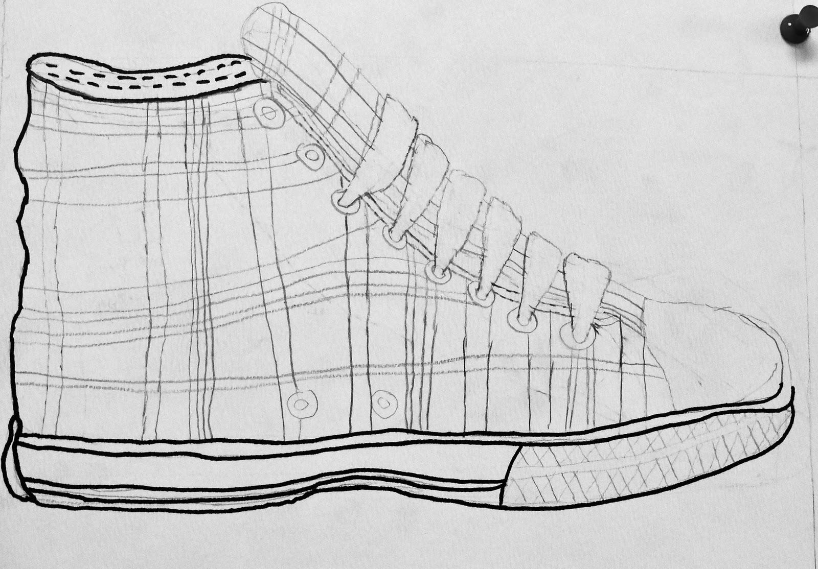 Contour Line Drawing Th Grade : Da vinci s wings th grade contour construction line
