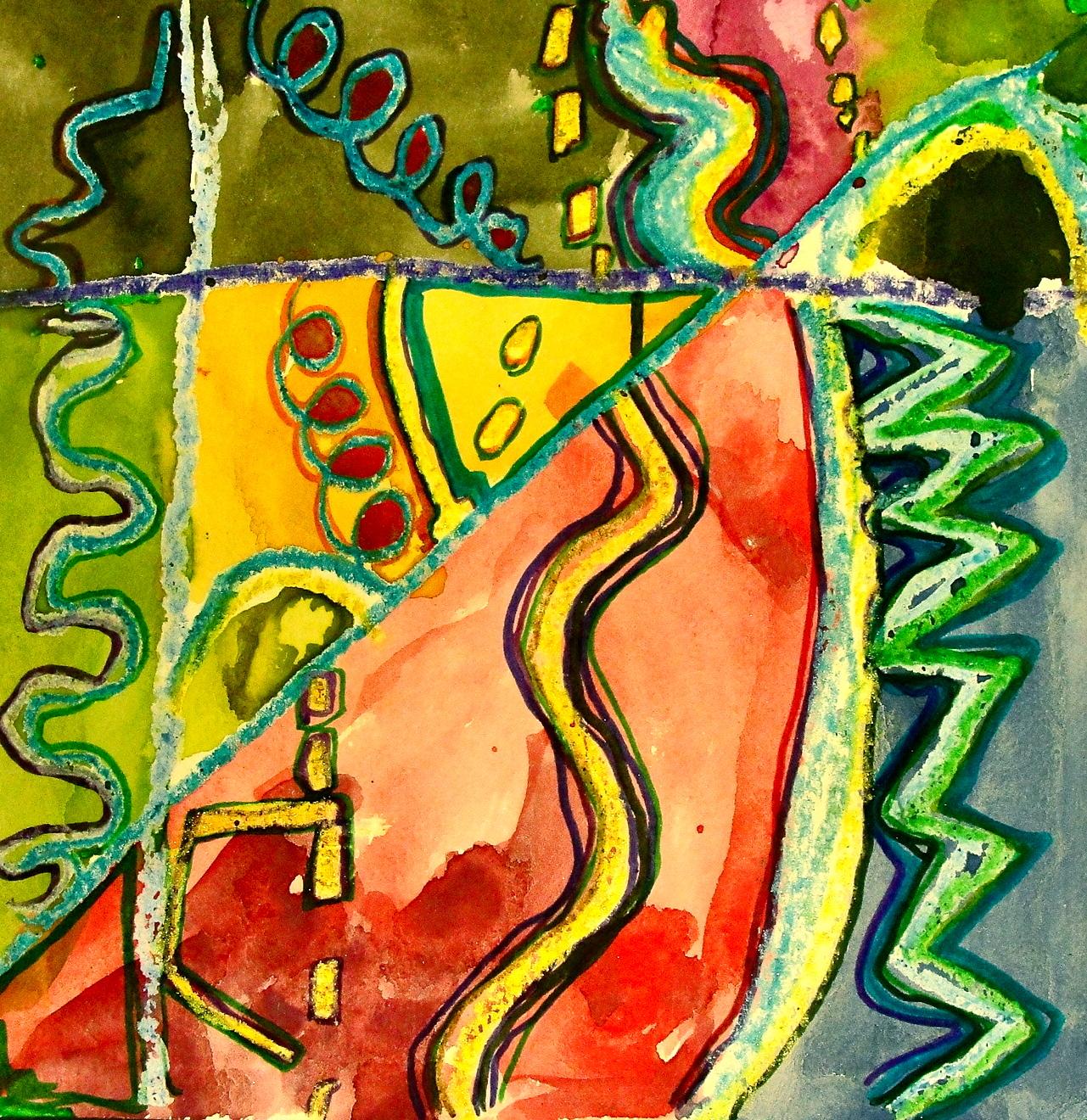 Line Art Grade 2 : Da vinci s wings st grade line paintings square art
