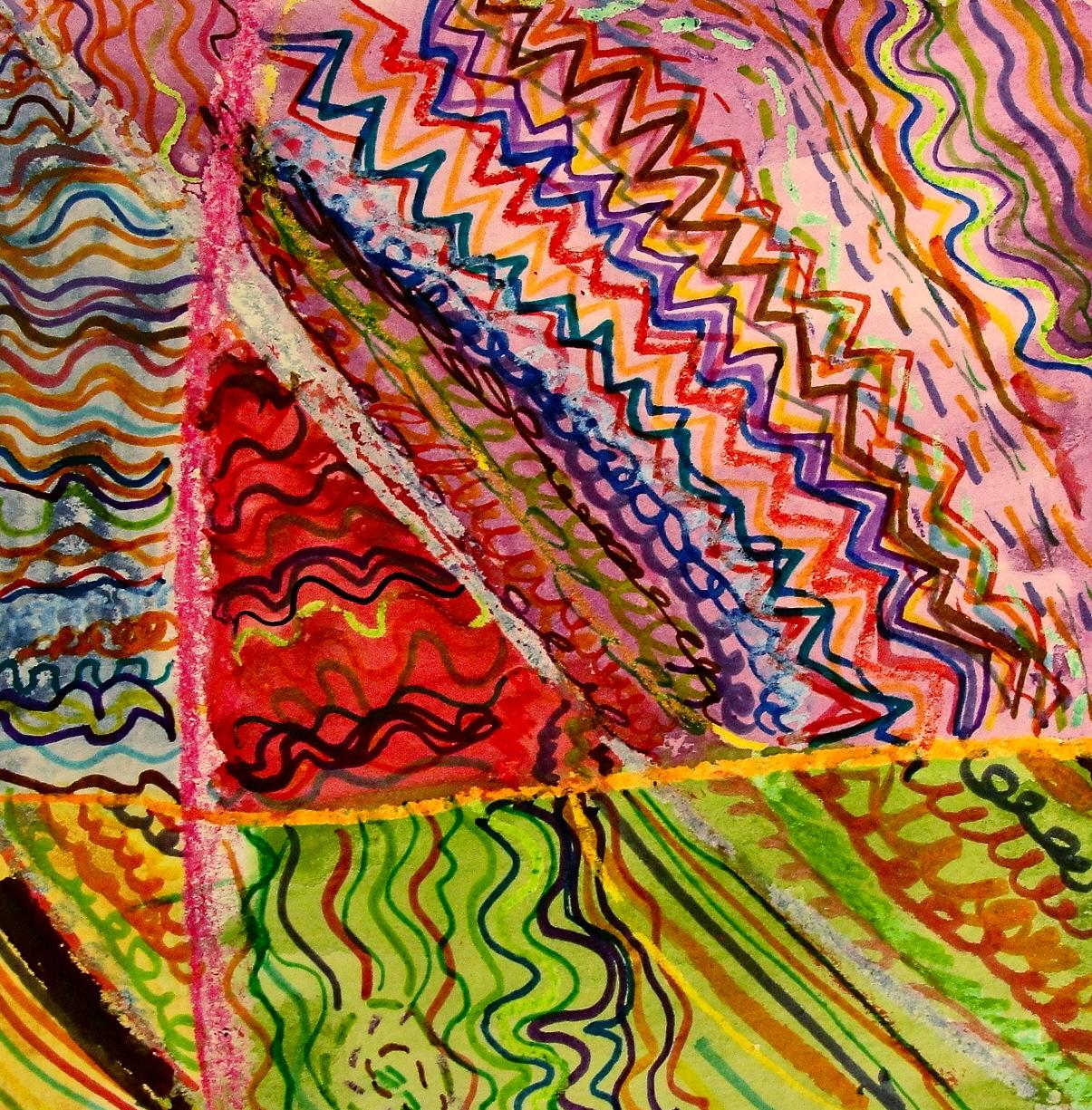 Line Art Vs Painting : Da vinci s wings st grade line paintings square art