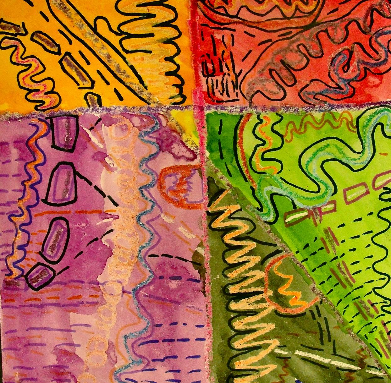 Line Art Grade 1 : Da vinci s wings st grade line paintings square art