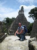 Mayan Pyramid- Tikal, Guatemala 2007