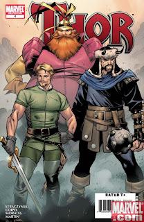Warriors Three fandral, Holgun, Volstagg Hulk vs Thor Asgard marvel superhero animated cartoon Bruce Banner