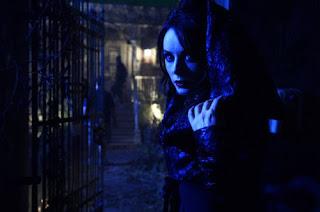 Repo genetic opera Sarah Brightman Blind Mag hot goth chick singer hologram eyes