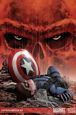 Captain America 31 Brubaker Bucky Barnes Winter Soldier Red Skull Marvel