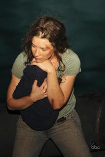 Kate Austen Austin Lost Island Evangeline Lily Lilly Aaron bloody bruised beaten