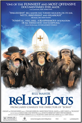 Religulous Bill Maher documentary monkeys
