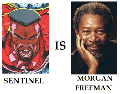 Youngblood Rob Liefeld Sentinel Morgan Freeman