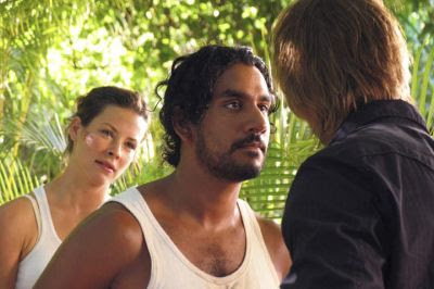Sayid Sawyer Lost Naveen Andrews James Ford Josh Holloway Kate Austen Jarrah Evangeline Lilly