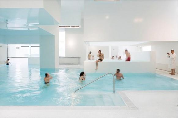 Indoor pool inspiration home design - Bains des docks le havre ...