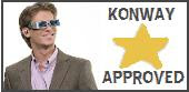 Yay! I'm Konway Approved!
