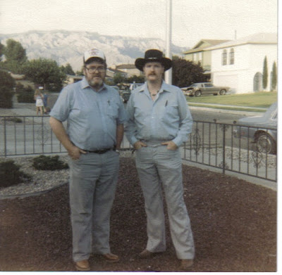 Dad & Mike, Albq, 1987