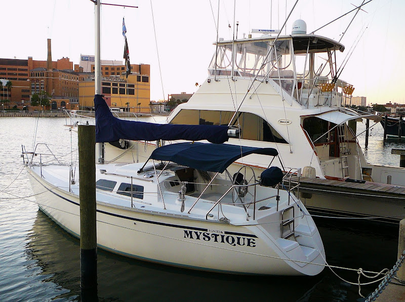 The delightful and fine handling Hunter sailboat or the exceptional Ocean ...