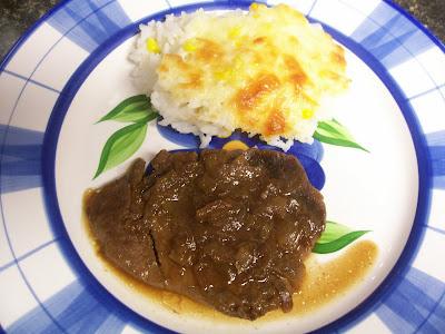 Carne con salsa de soja