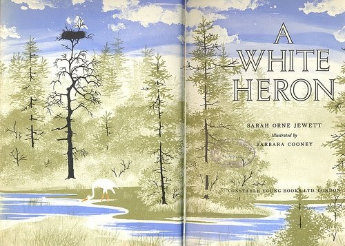 the importance of friendship in a white heron by sarah orne jewett Sarah orne jewett (september 3, 1849  her friendship with harvard law professor theophilus parsons stimulated an interest in the teachings of  and a white heron.