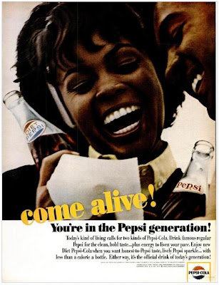 the pepsi generation Errors in ads stories have been flying around for decades about come alive  you're in the pepsi generation being badly translated to.