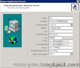 Detail registrasi Ncomputing Client