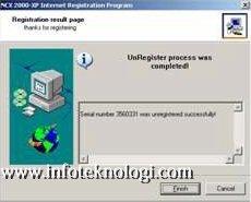 delete serial number