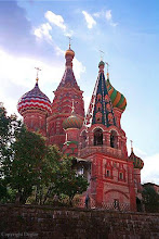 Saint Basil's Cathedral On Red Square