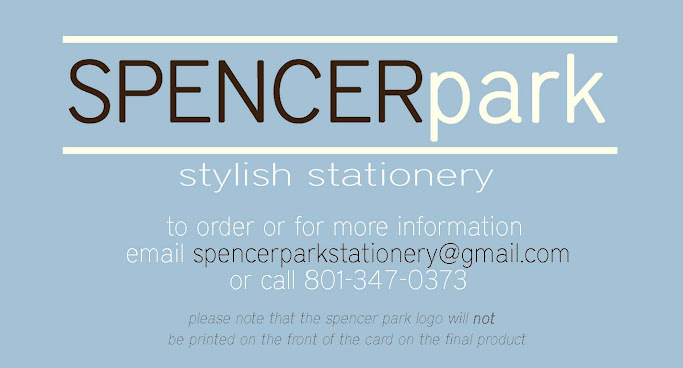 Spencer Park-  Custom Made Cards & Stationery