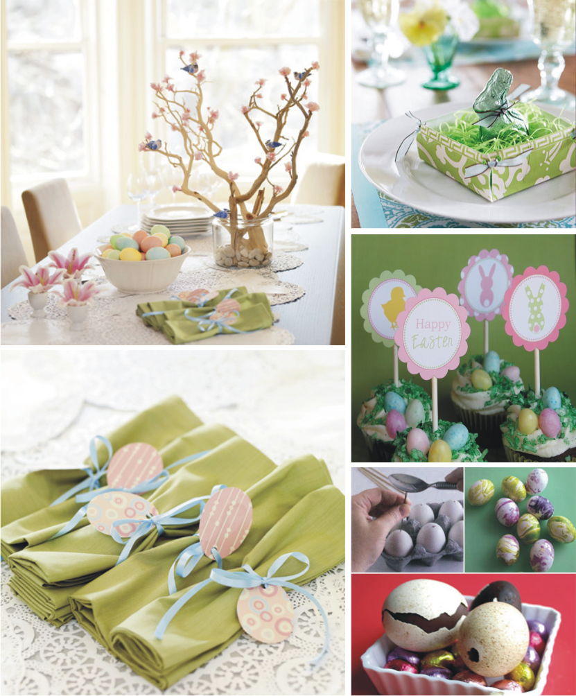 ... of these great ideas for Easter Table top decor from Family Circle