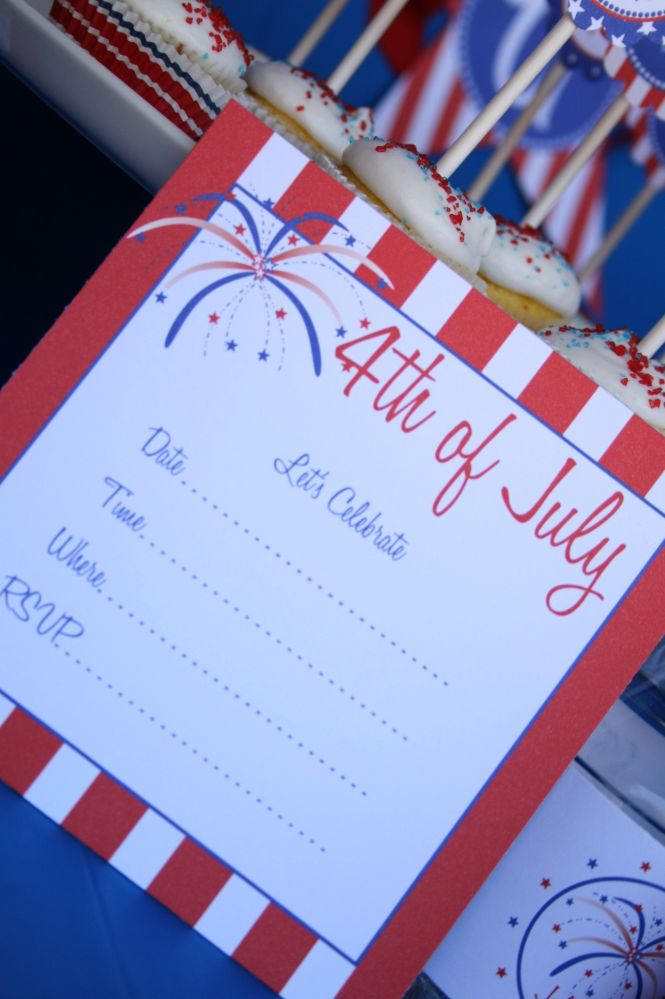 4th of July Party Printable Collection