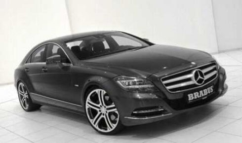 New Mercedes Benz Logo. Mercedes Benz CLS Brabus is no