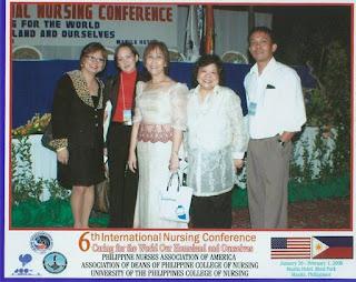Darlene Borromeo, Lodar Escobillo, Dr. Josefina Tuazon, May Mayor and Jerome Babate