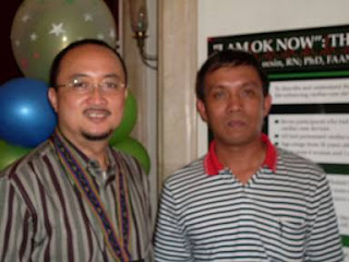 BNDees Dr. Rozzano Locsin and Prof. Jerome Babate