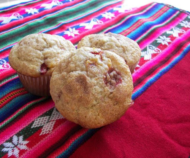 recettes  Muffins choclat menthe aux pépites de fraise