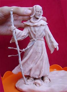 Orme Magiche Scultura San Francesco