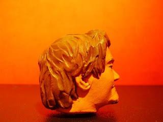 orme magiche testa viso bishoonen statuette sculture