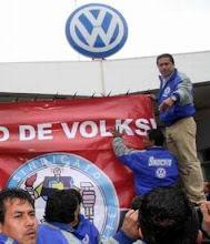 Huelga en Volkswagen