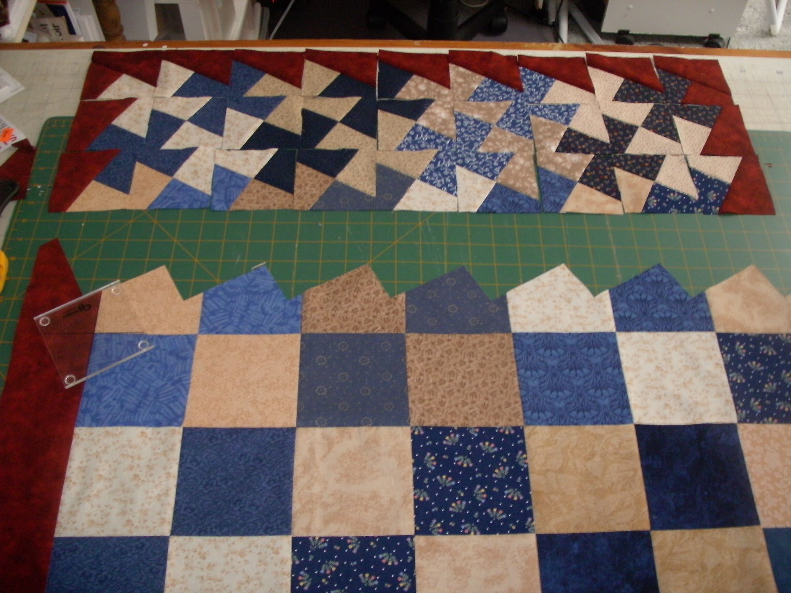 Sunshower Quilts: Fun with the Lil' Twister Ruler! : twister quilt ruler - Adamdwight.com
