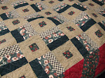 Sticks and Stones Flannel Quilt
