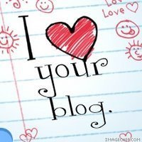 "Selo ""I love your blog"""