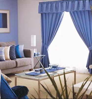 Consejos decorando interiores page 32 for Cortinas azul turquesa