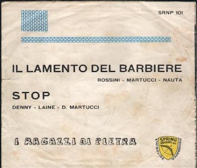 I Ragazzi di Pietra - Il lamento del barbiere (1966)