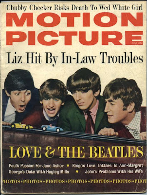 Teen Talk Magazine: Beatles on cover - May/June 1964.